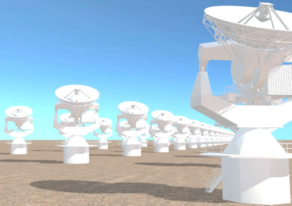Video (Technical)                           – Radiotelescopes