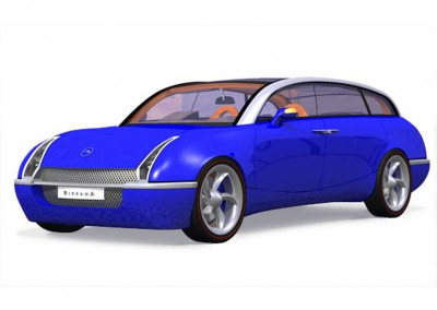 The Bayliss Birrana-75 Front Blue