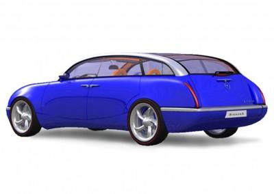 The Bayliss Birrana-75 Rear Blue